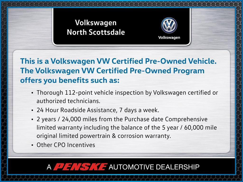 Certified Pre-Owned 2017 Volkswagen Passat 1.8T SE w/Technology Automatic