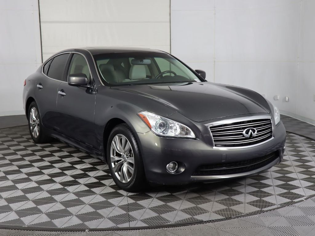 Pre-Owned 2012 INFINITI M37 4dr Sedan RWD