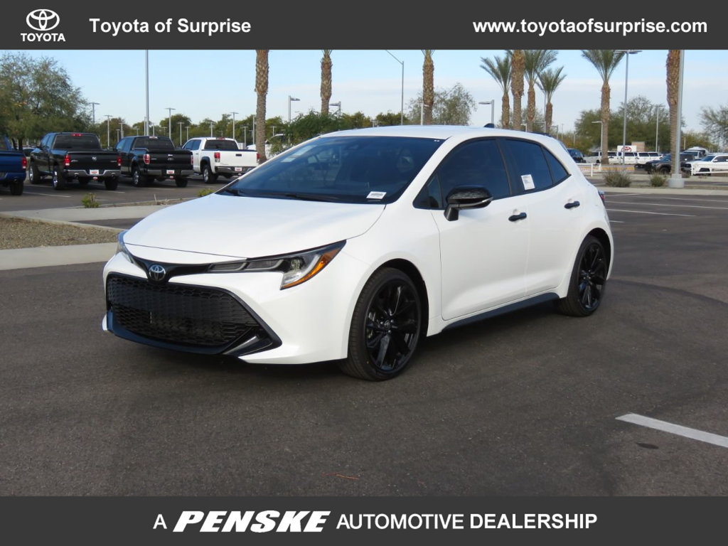 New 2020 Toyota Corolla Hatchback Nightshade CVT