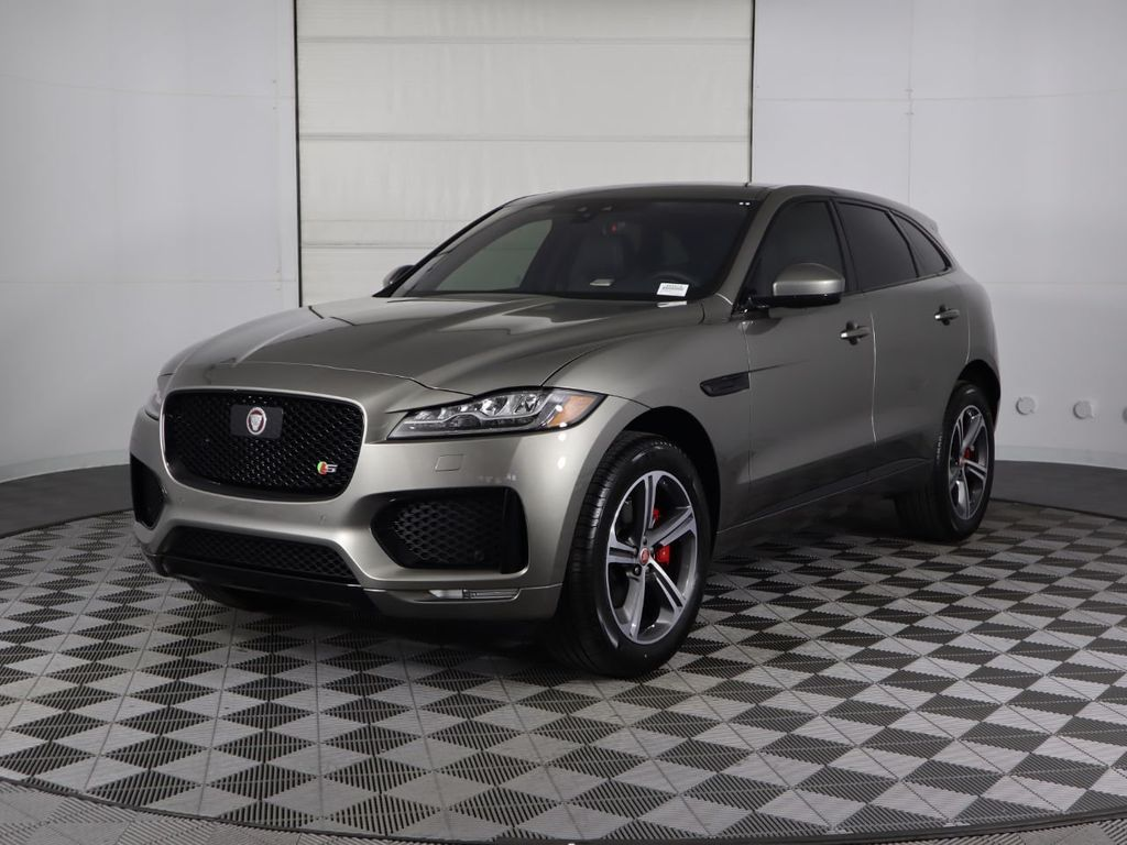 New 2020 Jaguar F-PACE S AWD