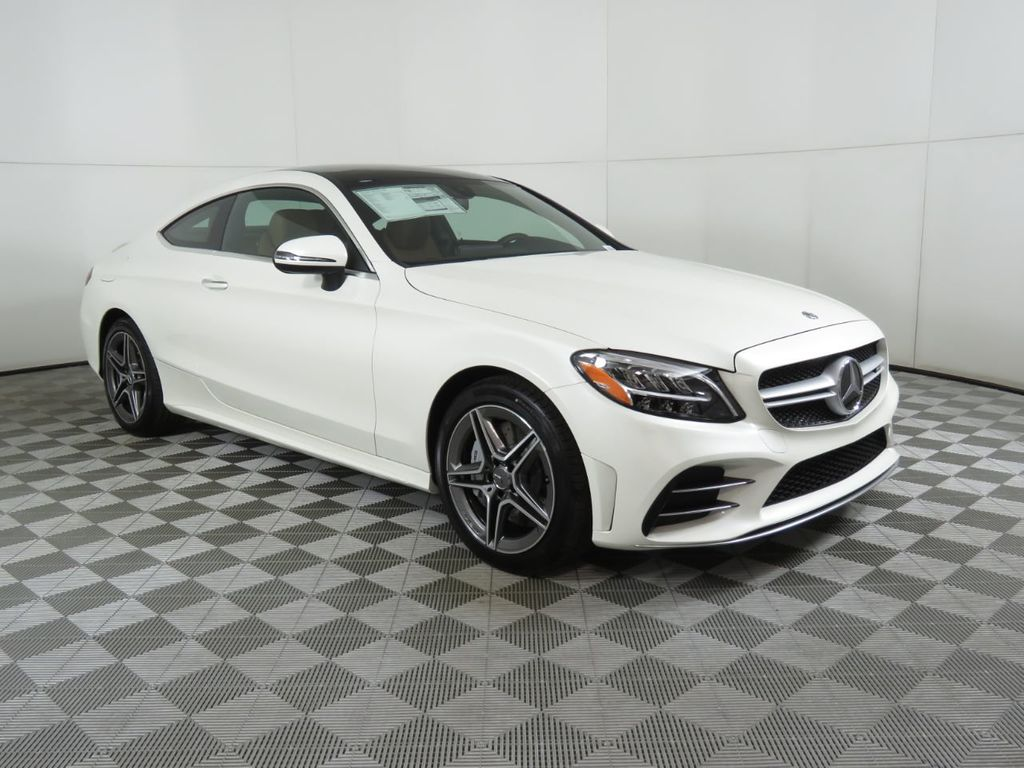 New 2020 Mercedes-Benz C-Class AMG® C 43 4MATIC Coupe
