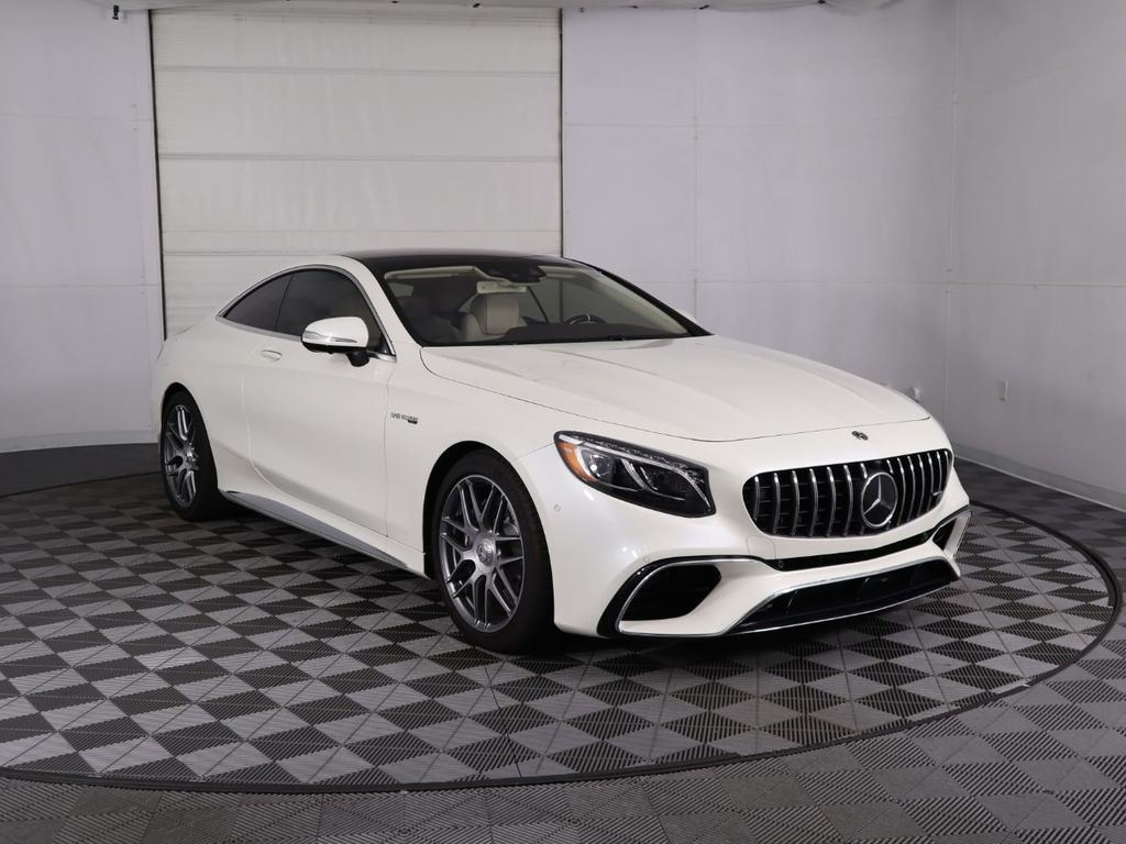 New 2020 Mercedes-Benz S-Class AMG® S 63 4MATIC+ Coupe