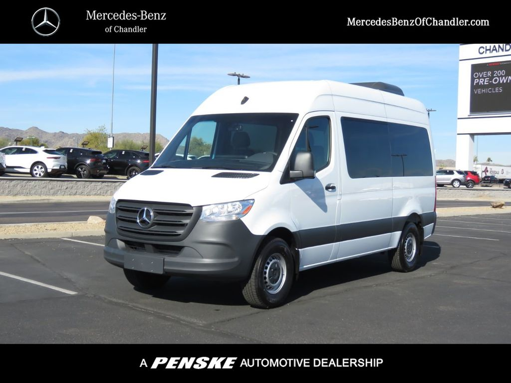 New 2019 Mercedes-Benz Sprinter Passenger Van 2500 High Roof 144""
