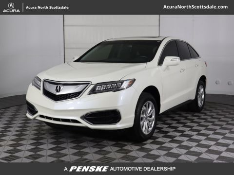Certified Pre-Owned 2018 Acura RDX FWD w/Technology Pkg