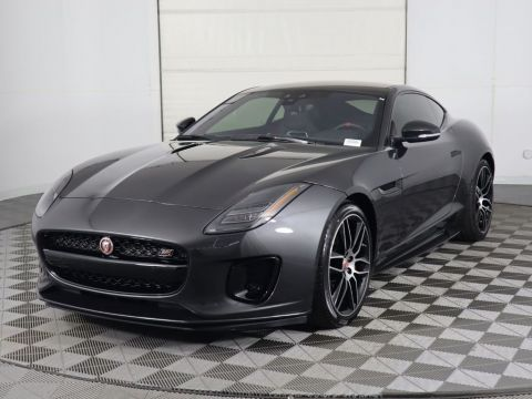 New 2020 Jaguar F-TYPE Coupe Automatic Checkered Flag