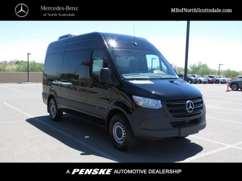 New 2019 Mercedes-Benz Sprinter Passenger Van VAN 25 PV 144 WB 2500 PASS 144' W