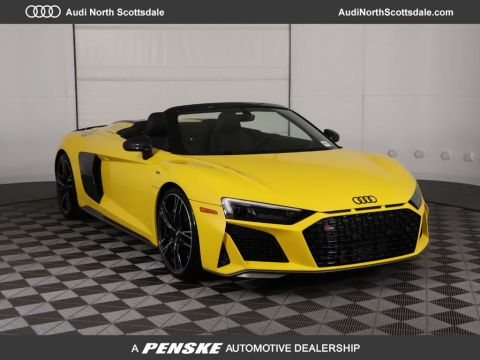 New 2020 Audi R8 Spyder V10 performance quattro